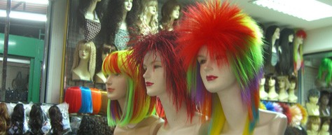 The Girl With The Multicolored Hair