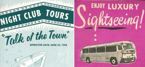 Vintage Color & Design: 50's Tourism Brochures