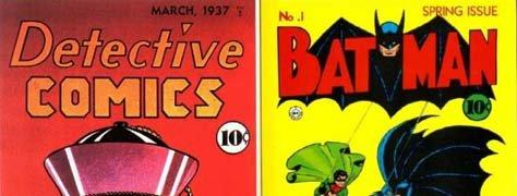 Vintage Color & Design: No. 1 Comic Books