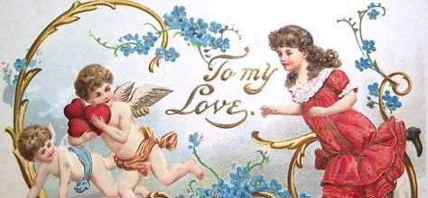 Vintage Color & Design: Valentine's Day Cards