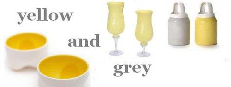 Interior Design Trends: Yellow & Grey