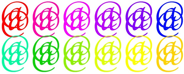 All About the Colorful @ (At Symbol)
