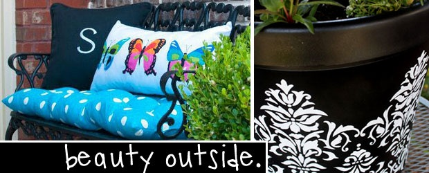 Taking it Outside: Outfit Your Outdoors DIY