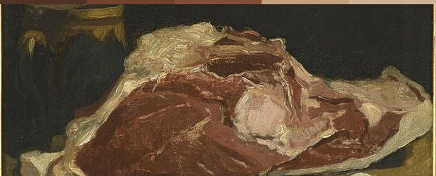 Color Red - Claude Monet - Steak Tartare