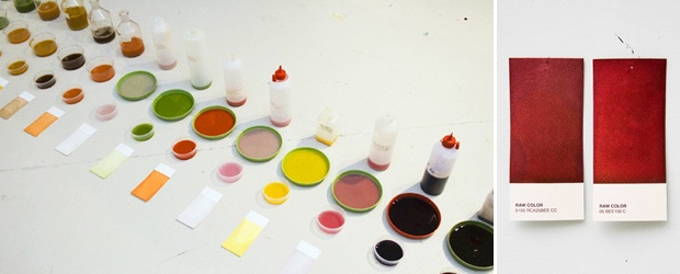 RAW COLOR - RBP Printing with Vegetable Ink