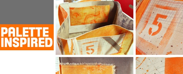 Project from Mixed and Stitched: Palette Inspired Market Bag
