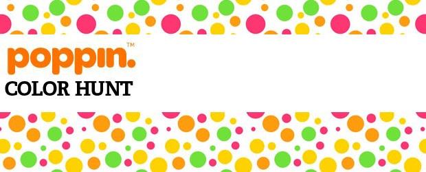 Poppin Color Contest + Giveaway: Desk Set Color Hunt