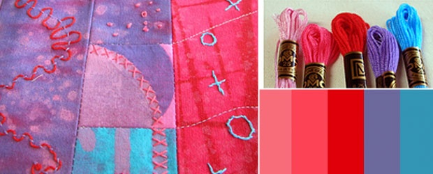 Project from Sharing Stitches: Amazing Artist's Apron + Giveaway