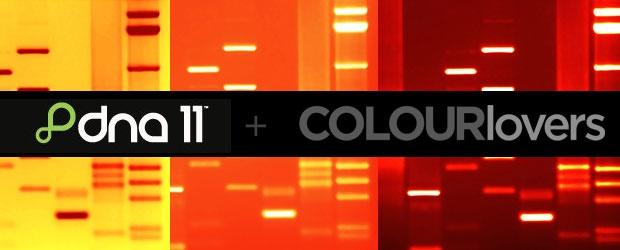 DNA11 + COLOURlovers Palette Contest: Color Your DNA