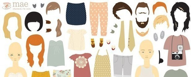 The Sentiment of Paper Dolls Past and Present
