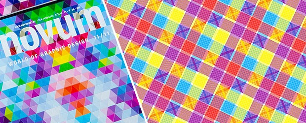 A Colorful & Tactile Magazine Cover for a True Hands-on Experience