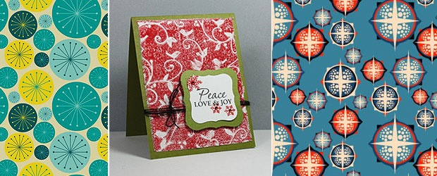 Greeting Card Pattern Mashup Inspiration