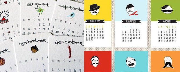 The 2012 Calendar: An Awesome Print Trend