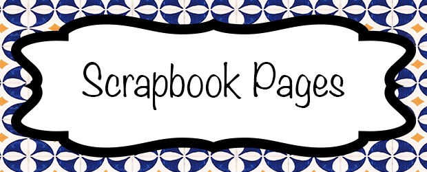 Colorful Scrapbook Pages